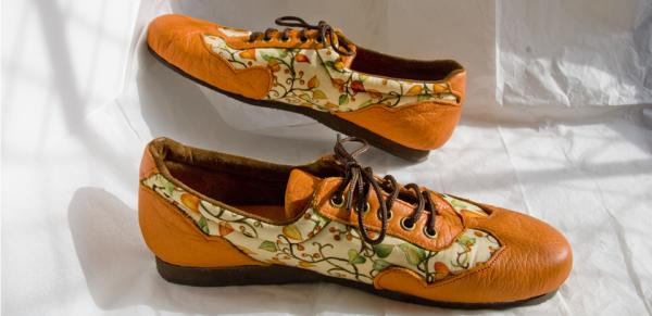 Orange Forest Trainers