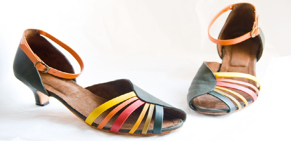 Strelitzia sandals - Lateral view
